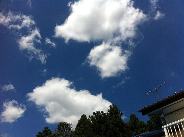 空 俳句:雲の上
