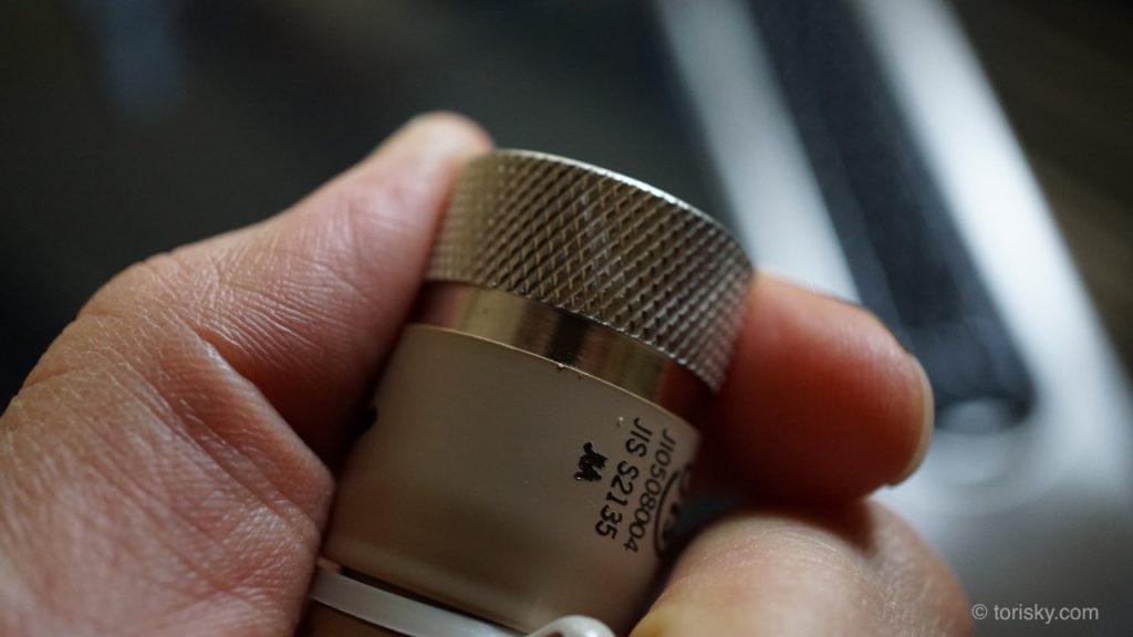 ゴム管差込み型のガスホースをプラグタイプに換える