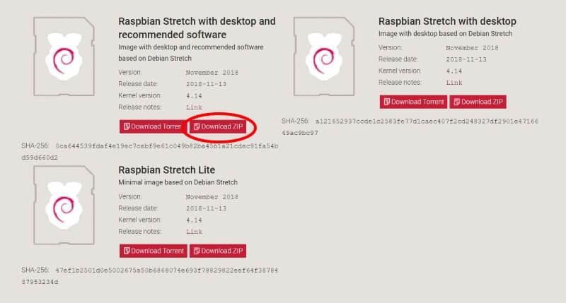 ラズパイ:最新版Rasbianは全部入りがおすすめ(2019年1月)
