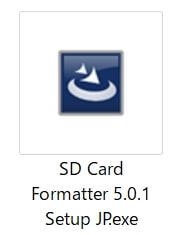 ラズパイ:SDカードをフォーマットする