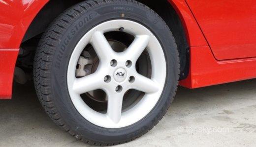 タイヤ交換時のネジのゆるみで走行時に異音がすることがある