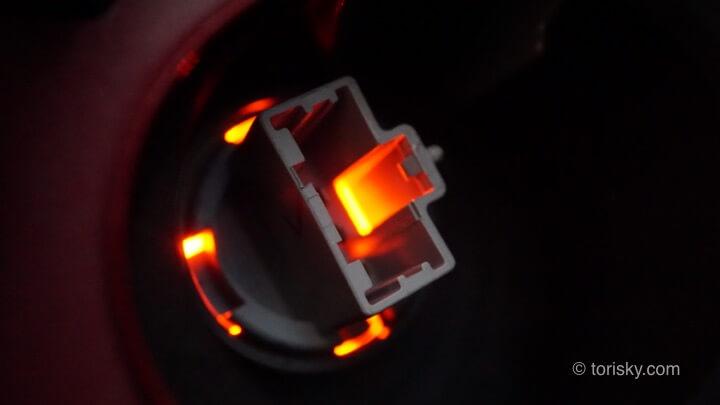 ホンダアコード(ユーロR)のストップランプ交換の仕方