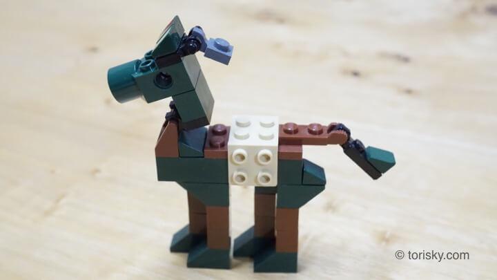LEGOで馬