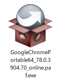 Chromeポータブルのインストール方法